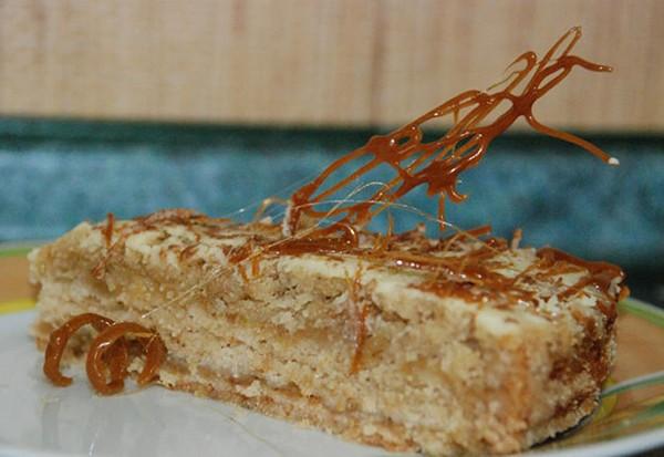 венгерский яблочный пирог рецепт с фото