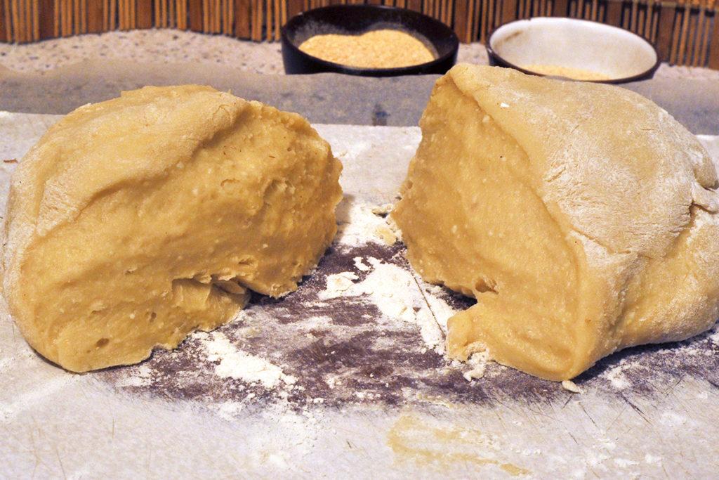 Готовое тесто для творожного печенья в духовке