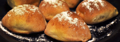 Способ подачи творожного печенья приготовленного в духовке