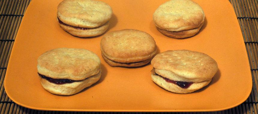 Песочное печенье в духовке