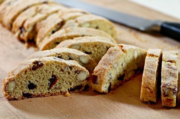 Хрустящее итальянское печенье Бискотти