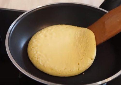Нежные панкейки на кефире - рецепт пошаговый с фото