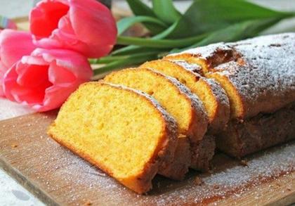 Пышный морковный пирог